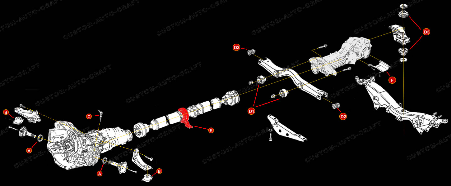 parts for type44's (100-200-V8)