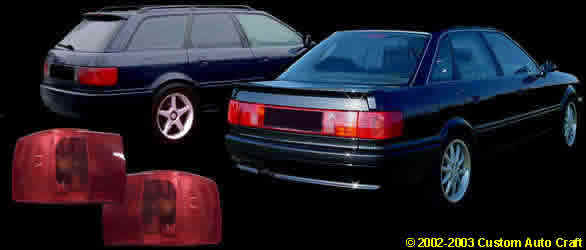 Parts For Type B AND B SRS - Audi 90 car parts